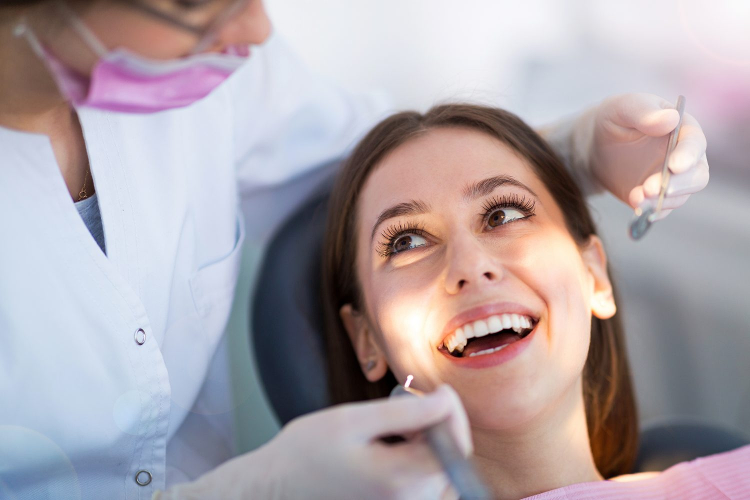 dentist Liverpool, NY bigstock-Dentist-and-patient-in-dentist-232666918 Services